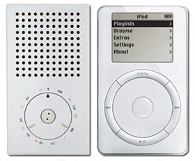 Kapesní rádio T3 vs. iPod