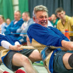 Telegraph News - Dundee - Ross Logan story; CR0005906 British and Irish Tug of War  championships at Piperdam leisure resort.  Picture Shows; action from the competition, Piperdam Golf & Leisure Resort,, Dundee, 02nd February 2019. Pic by Kim Cessford / DCT Media